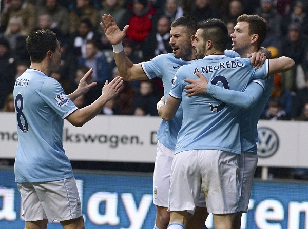 English premier league table standings arsenal third as - Barclays premier league ranking table ...