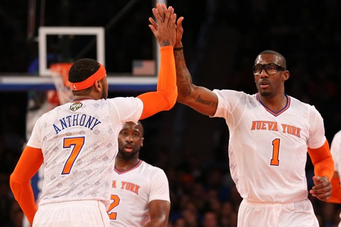 NY Knicks Rumors: Carmelo Anthony Praises Jose Calderon