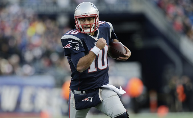 Patriots Rumors: Jimmy Garoppolo, Julian Edelman Workout ...Jimmy Garoppolo Patriots