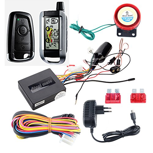 Top 5 Best Scooter Alarm System And Remote Starter For