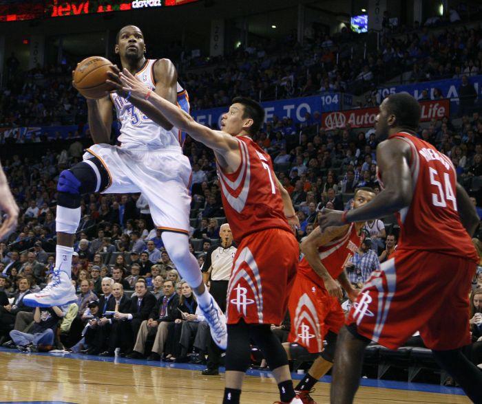 Oklahoma City Thunder vs. Houston Rockets 120-91 Third ... Rockets Score